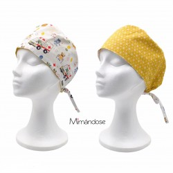 GORRO REVERSIBLE ambulancia